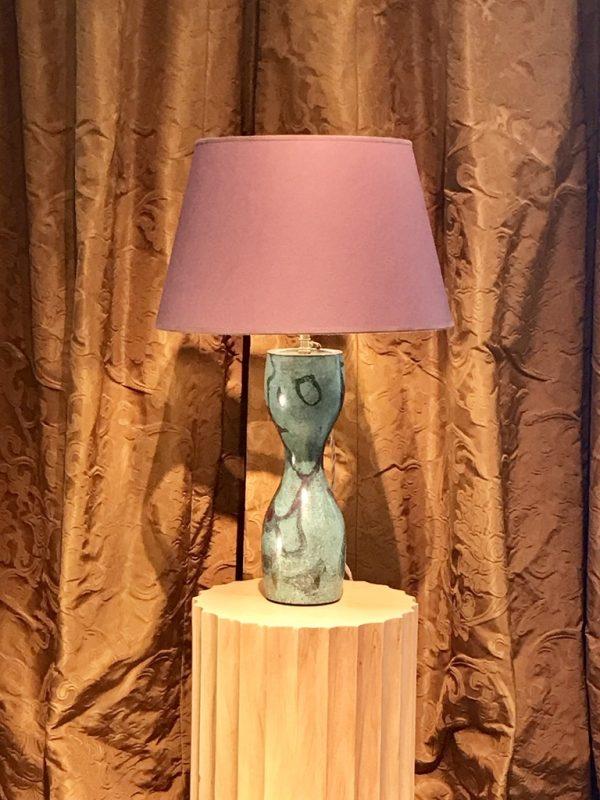 Vase Japon monté en lampe