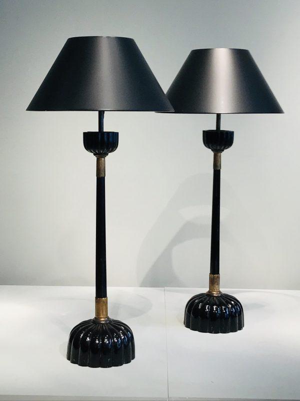 Paire de lampes – vendue –