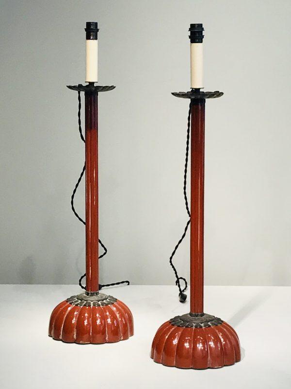 Paire de lampes.