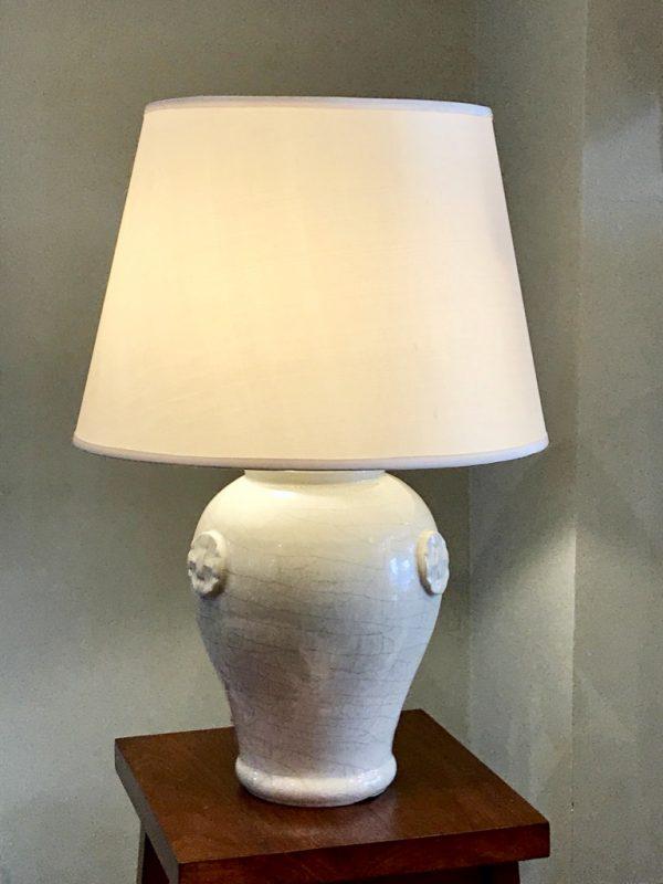 Lampe céramique.